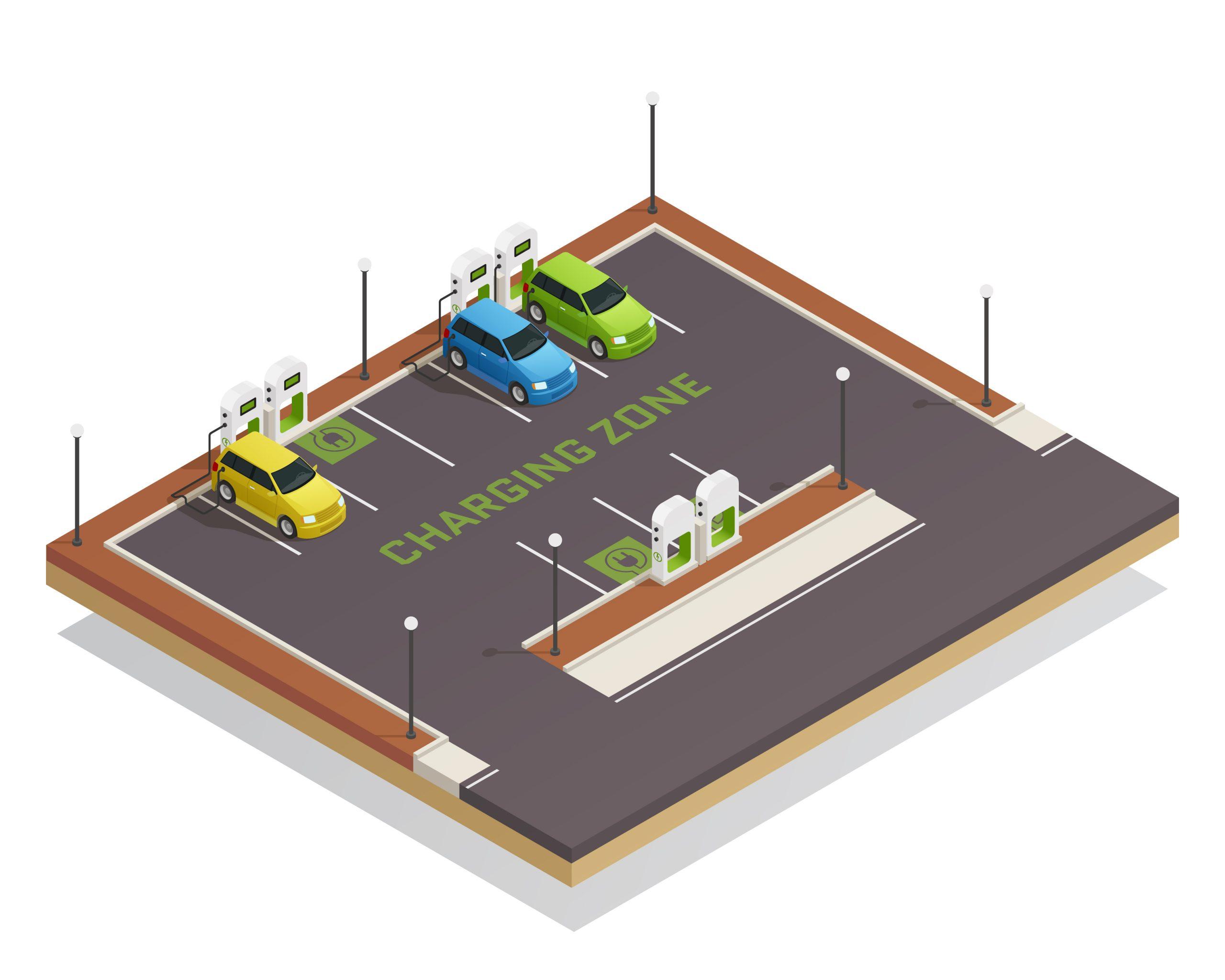 elektrische auto - laadpaal